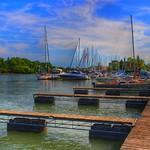St Catherines Ontario ~ Canada ~ Port Dalhousie Pier Marina ~ Landmark thumbnail