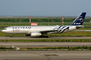 China Eastern Airlines | Airbus A330-200 | B-5949 | Skyteam livery | Shanghai Pudong