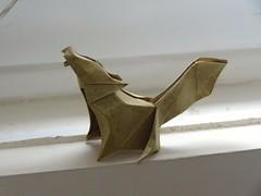 Awooo! (Rohit KO) Tags: origami wolf jonakashima camila zeymer papercraft rohit ko elephant hide