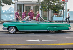 green chevy (eraneran70) Tags: eran bendheim erancom blond impala classic car mans gather street nyc tamron 70300mm