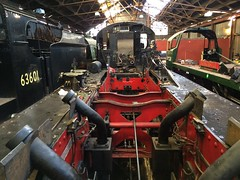 Great Central Railway Loughborough Leicestershire 21st September 2018 (loose_grip_99) Tags: greatcentral railway railroad rail loughborough leicestershire eastmidlands england uk train steam engine locomotive lms stanier black5 460 45305 frames chassis works preservation overhaul transportation gassteam uksteam trains railways lner gcr o4 280 63601 5305la september 2018 34039 boscastle bulleid pacific southern 777 sirlamiel