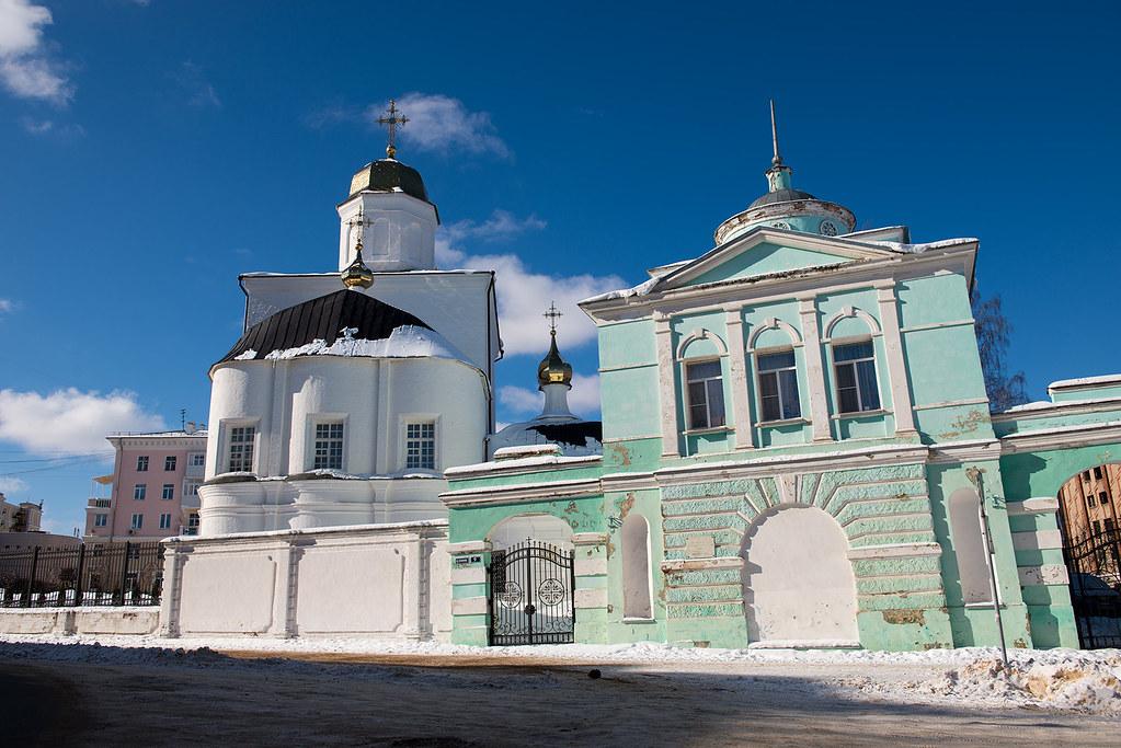 фото: Вознесенский женский монастырь в Смоленске