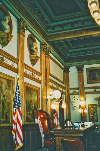Newark  Ohio - Licking County Courthouse - Interior