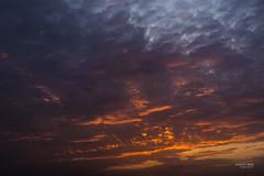 Sunsuet Aug2018_3 (TheBundit) Tags: sky sunset cloud color