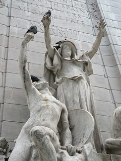 USS Maine Monument - War - Justice - Figures 8119