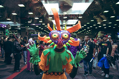 wizard world comic con. august 2018 (timp37) Tags: wizard world comic con august 2018 chicago illinois rosemont cosplayer legend zelda deku majoras mask