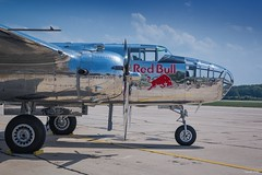 Mitchell (tamson66) Tags: mitchell b25 airshow aircraft airplane airport detail