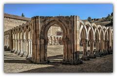 Arcos de San Juan de Duero: Soria (jesus.de.leon1) Tags: arcos piedra soria spain españa castilla y leon sanjuandeduero arquitectura edificio cultura