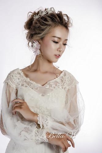 嘉義新秘,新秘,微線條造型,歐風微線條,空氣感盤髮造型,時尚感新娘彩妝