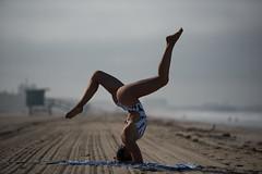 Beach Yoga! Brunette Yoga Yogi Swimsuit Bikini Surf Girl Model Venus! Santa Monica Beach Swimsuit Model Photoshoot! Nikon D810 AF-S NIKKOR 70-200mm f/2.8G ED VR II! Pretty Tall Thin Fit Fitness Model Long Legs Abs! Socal Yoga Goddess Yogi 45SURF dx4/dt=ic (45SURF Hero's Odyssey Mythology Landscapes & Godde) Tags: beach yoga brunette yogi swimsuit bikini surf girl model venus santa monica photoshoot nikon d810 afs nikkor 70200mm f28g ed vr ii pretty tall thin fit fitness long legs abs socal goddess 45surf dx4dtic