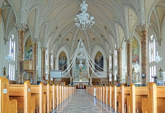 DSC01138 - Nave of Church (archer10 (Dennis) 159M Views) Tags: quebec sainteannedelapérade church community sony a6300 ilce6300 18200mm 1650mm mirrorless free freepicture archer10 dennis jarvis dennisgjarvis dennisjarvis iamcanadian novascotia canada nave