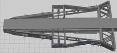 Disruptor XL WIP Aft Frame (EliteGuard01) Tags: lego ldd legodigitaldesigner stucture frame wip space spaceship moc sciencefiction scify