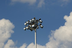 IMG_5112_with a flick of the switch. (lada/photo) Tags: stadiumlights electricity power ladaphoto clouds cloudsandsky