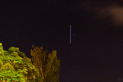 ISS vs. α Lyrae / @ 18 mm / 2017-05-26 (astrofreak81) Tags: iss internationalspacestation international space station satellite sky night light shade shadow earth sun dresden germany astroalex astro alex alexandergerst alexander gerst astrofreak81 20170526 1998067a