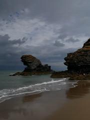 Llangrannog (Dubris) Tags: wales cymru ceredigion llangrannog seaside coast village beach sand