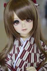 Kumiko (lekatto.popuri) Tags: doll bjd volks volksdoll sdgr girl creamy mami portrait ball jointed super dollfie