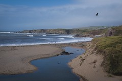 DSCF3149 (jewellnick60) Tags: beach devon southhams sea reflections fujix100f landscape landscapephotography lensculture