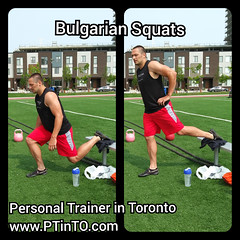 Bulgarian Squats (personaltrainertoronto) Tags: boot camp hiit exercise workout bodybuilding athlete athletic fitness model fit kettlebell free weight bodyweight sexy muscles strong strength powerful track intensity interval abs legs glutes booty butt 6 pack sixpack