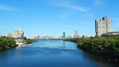 Boston, Charles River seen from Boston University Bridge [07.08.2013] (b16aug) Tags: geo:lat=4235251943 geo:lon=7111044443 geotagged boston cambridgeport massachusetts unitedstates usa
