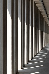 Light and shadow, parking garage, Lindau, Germany (Mike Bink fotografie) Tags: detail lines fujifilmx100f x100f fujifilm mikebink graphic shadow light parking architectuur architecture