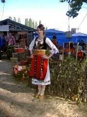 Pretty Gril in Serbian Folk Costume (Superoperater hero) Tags: 2012 berbagrozdja daniberbe predstava putovanja smederevo smederevskajesen smederevskatvrdjava srbija tvrdjava vasar