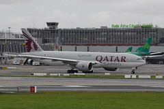 A7-BFL Boeing 777F Qatar Cargo (eigjb) Tags: dublin airport international collinstown ireland eidw plane spotting aviation jet transport airliner aircraft aeroplane airplane a7bfl boeing 777 qatar cargo b777 freighter airways 777f