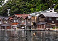 Funaya fishermen houses, Kyoto prefecture, Ine, Japan (Eric Lafforgue) Tags: architecture asia boathouse buildingexterior builtstructure coastline colorimage cultures day fishingindustry funaya harbour horizontal house ine japan japan18208 journey kyotoprefecture nopeople outdoors photography row scenics sea tourism traditionalbuilding tranquilscene tranquility traveldestinations village water waterfront woodmaterial wooden jp