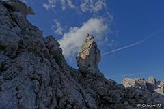 Le gendarme (Goodson73) Tags: didier bonfils goodson73 pointe percee cheminees sallanches rando escalade aravis montagne