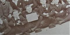 6th Class at Prahran School, Victoria - very early 1900s - detail (Aussie~mobs) Tags: vintage victoria prahran school class group students scholars pupils australia 6thclass