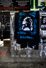 HH-Stencil 1107 (cmdpirx) Tags: hamburg germany reclaim your city urban street art streetart artist kuenstler graffiti aerosol spray can paint piece painting drawing colour color farbe spraydose dose marker stift kreide chalk stencil schablone cutout blade knife klinge messer multi one 1 layer multilayer wall wand nikon d7100