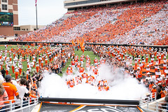 Image Taken at the Oklahoma State Cowboys vs Boise State Broncos Football Game, Saturday, September 15, 2018, Boone Pickens Stadium, Stillwater, OK. Melissa Morales/OSU Athletics (OSUAthletics) Tags: osu pokes boisestate boisestatebroncos boisestateuniversity boisestateuniversitybroncos broncos cowboys football oklahomastatecowboys oklahomastateuniversity oklahomastateuniversitycowboys stripethestadium