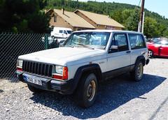 1986 Jeep Cherokee 2.1 TD (Spottedlaurel) Tags: jeep cherokee