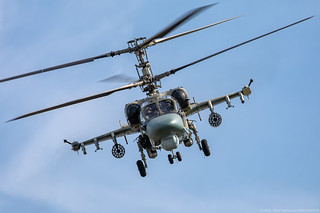 Ka-52 attack helicopter of the Russian Army