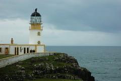 Ness Point Lighthouse (Fanny Prott) Tags: lighthouse phare scotland ecosse skye sea stone
