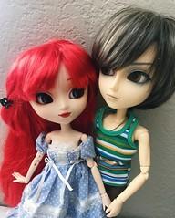 the perfect pair (angelwxngs) Tags: xander ophelia groove junplanning planning jun jp obitsu wayne taeyang dolls doll kirsche pullip