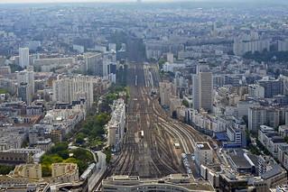 2018.05.20.041 PARIS - Tour Montparnasse, Voie de chemin de fer de la gare Montparnasse (in EXPLORE du 19/08/2018)