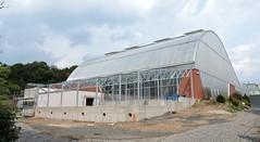 2018-08-24 New Greenhouse for Botanical Garden Teplice 2 (beranekp) Tags: czech teplice teplitz botanik botanic garden garten