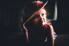 the girl in the pink hat (Nathaniel Macrae) Tags: nikon nikond3 sigma sigmaart 35mm fullframe iamnikon nikoneurope nikondslr nikoncamera portrait portraiture portraitphotography candid girl pink hat littlegirl toddler windowlight lowlight highiso flickr