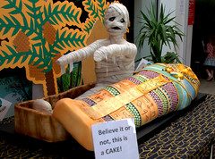 Mummy Cake (Tony Worrall) Tags: bolton gmr town welovethenorth nw northwest update place location uk england north visit area attraction open stream tour country item greatbritain britain english british gb capture buy stock sell sale outside outdoors caught photo shoot shot picture captured cake sweet funny mummy bake coffin bizarre kids fun quirky sugar