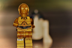 'I'm not going that way' (SpaceCadetTaylor) Tags: star wars lego toys macro r2d2 c3po dreams