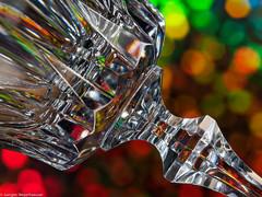 HMM Macro Mondays #Glass (J.Weyerhäuser) Tags: macromondays glass hmm glas studio blitz makro kristallglas stiel boden bokeh