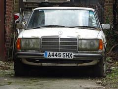 1983 Mercedes Benz 300 D Auto (Neil's classics) Tags: vehicle car w123 1983 mercedes benz 300d abandoned
