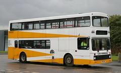 E & M Horsburgh, Pumpherston, Livingston R163 HHK on West Lothian schools services. (Gobbiner) Tags: ncme emhorsburgh olympian r163hhk livingston vn163 palatine eastlondon westlothian volvo 16663 northerncounties stagecoachfife