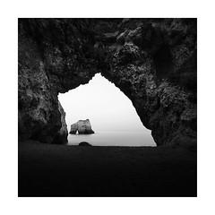JIGSAW (Nick green2012) Tags: seascape sea stack blackandwhite square longexposure minimal silence