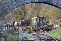 20171104 077 Norden. Unidentified Wagons (15038) Tags: railways trains br britishrail swanagerailway unidentified norden wagon goods freight npccs track sidings