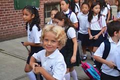 Heading Into The First Day Of School (Joe Shlabotnik) Tags: 2018 chloe flavia luna september2018 miaw joannab everett isabeli afsdxvrzoomnikkor18105mmf3556ged