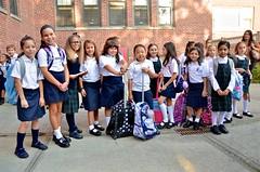 Third-Grade Girls On The First Day Of School (Joe Shlabotnik) Tags: luna september2018 yana joannab cecily morgan zara hannahr flavia rosemilia isabellap chloe isabeli 2018 afsdxvrzoomnikkor18105mmf3556ged