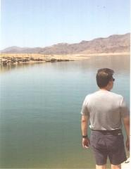 Postcrossing US-5556253 (booboo_babies) Tags: arizona lake lakemead water blue man husband 2017 june2017 handmade handsome desert postcrossing