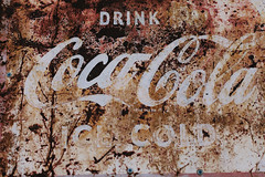 Coca Cola (travelkaefer) Tags: cocacola myroadtripamerica route66 old us sign texas rust usa motherroad rt road 66