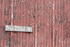 No Parking (steveholding8) Tags: corrugatediron weathered faded decay metal noparking sign